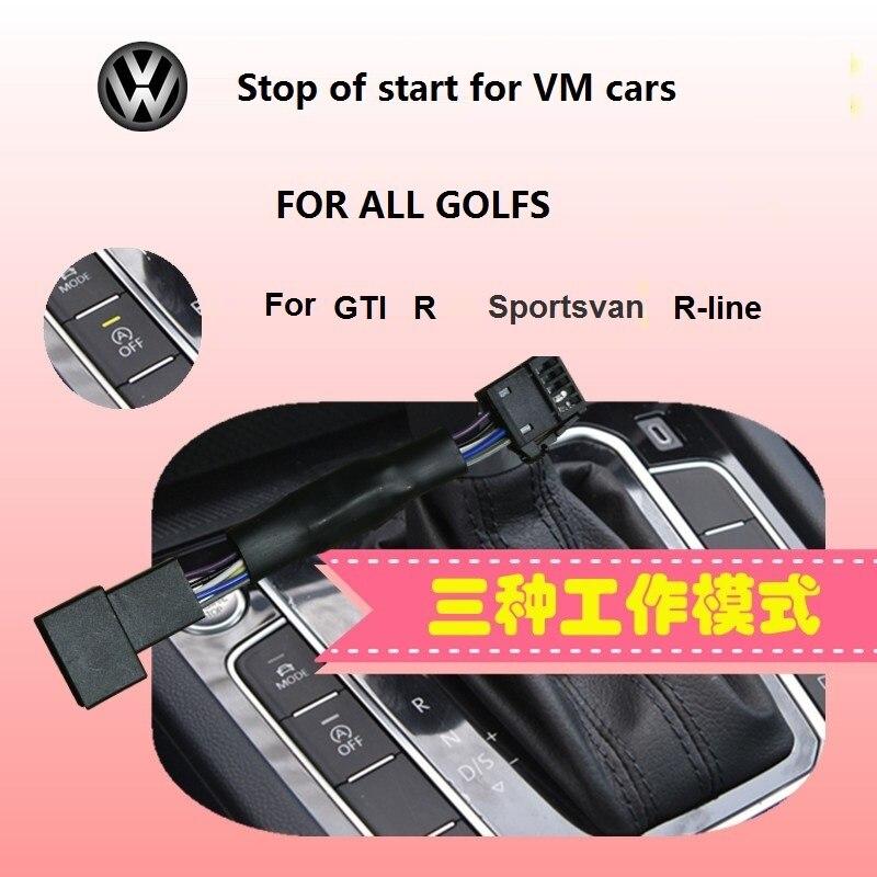 Automatic start / stop of start / stop treasure default closermemory mode for VW Golf Sportsvan GTI  RLINE Areteon